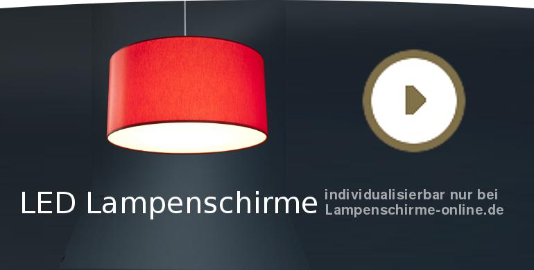 Einen LED-Lampenschirm gestalten