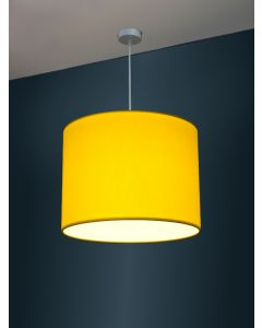 Ø 40cm LED-Lampenschirm, Baumwolle Polyester Mix