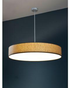 Ø 60cm LED-Lampenschirm, Baumwolle Polyester Mix
